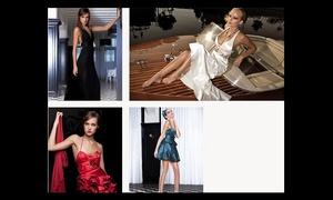 Fashion Designer by Debora: Verhuur jurken Debora Velasquez met kuis inbegrepen voor 1 of 2 personen vanaf €109,99