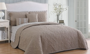 Del Ray Lightweight Quilt with Sheet Set (9-Piece)