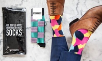Monthly Sock Subscription Service: Socks ($9.99) or Socks and Jocks ($9.99) Monthly with Man Rags (Up to $25 Value)