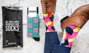 Man Rags: Monthly Sock Subscription: Two Pairs of Socks ($9.99) or Socks and Jocks ($9.99) with Man Rags (Don't Pay $25!)