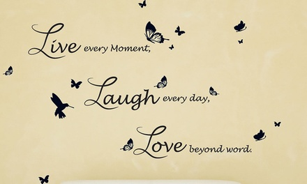 Quote Wall Stickers