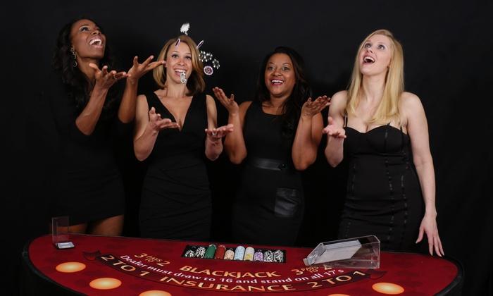 Dealing Divas - Fort Worth: Three Hours of Blackjack or Poker Dealer Rental from Dealing Divas (50% Off)