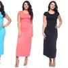 Women's Short-Sleeve Plus-Size Maxi Dress (3-Pack)