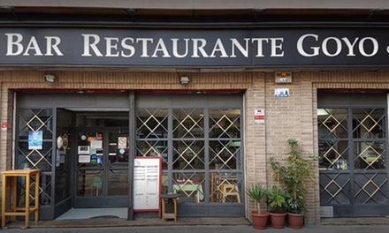 Menú de Arroz con langosta o Chuletón y surtido de entrantes desde 24.95€