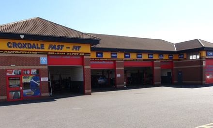 MOT Test with Optional Service, Oil and Filter Change at Croxdale Fast Fit, Seven Locations (Up to 53% Off)