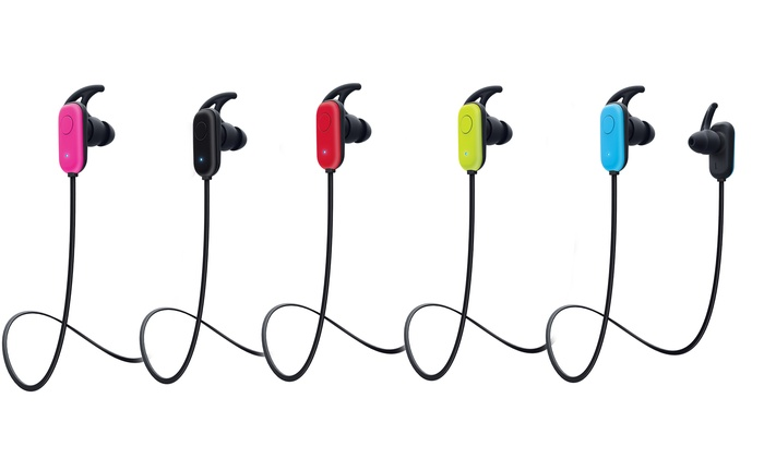 Up to 50 off on merkury innovations earbuds groupon goods merkury innovations motion x wireless bluetooth earbuds fandeluxe Images