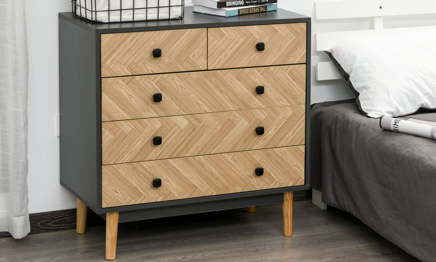 Bedroom Double-Door Wardrobe or Cabinet Chest
