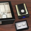 Up to 71% Off Personalized Cufflinks, Money Clip, and Watch Case