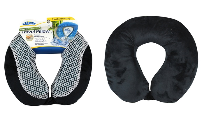 cloudz cool memoryfoam travel pillow cloudz cool memoryfoam travel pillow