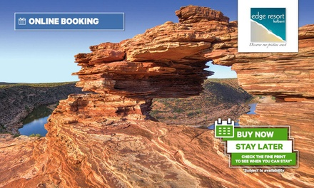 Kalbarri: 2, 3, or 4 Nights for 2 or 4 People with Bottle of Wine and Restaurant Voucher at Kalbarri Edge Resort