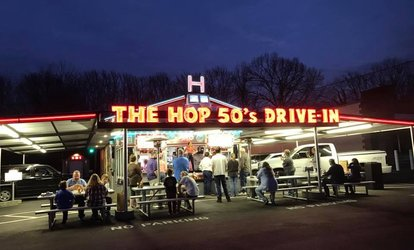 image for $5 for $10 Worth of Classic American Food at The Hop 50's Drive-In