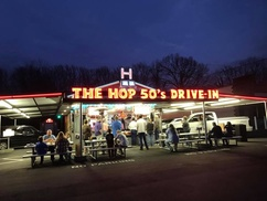 48% Off Classic American Food at The Hop 50's Drive-In at The Hop 50's Drive-In, plus 6.0% Cash Back from Ebates.
