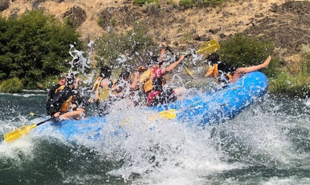 Deschutes River Half-Day Rafting Trip for Two, Four, or Eight People at Forward Paddle Rafting (Up to 43% Off)