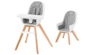 Chaise haute bébé Tixi 2 en 1