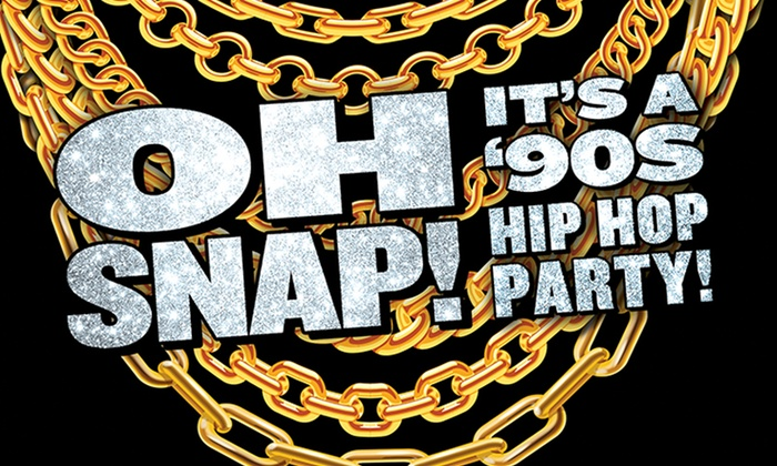 OH SNAP! It's A 90's Hip Hop Party! on Friday, June 28, at 9 p m