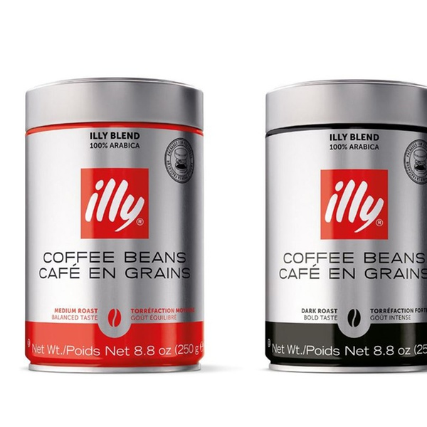 3 6 Or 12 Pack Of Illy Ground Or Whole Bean Coffee