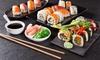 Sushi-Menü in 3 Gängen