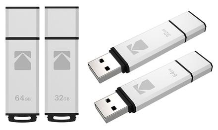 One or Two Kodak USB 2.0 K950 Flash Drives