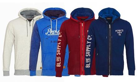 Petrol Industries Sweat-Jacke mit Kapuze für Herren in der Farbe nach Wahl (Munchen)