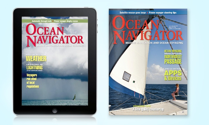 """Ocean Navigator - Downtown: One- or Two-Year Print or Digital Subscription to """"Ocean Navigator"""" (Up to 56% Off)"""