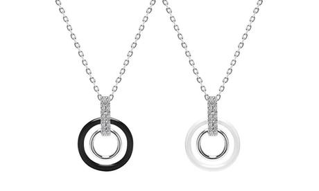1 o 2 collares de cerámica adornados con cristales de Swarovski®