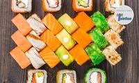 Menu sushi d'asporto, in centro a Bologna