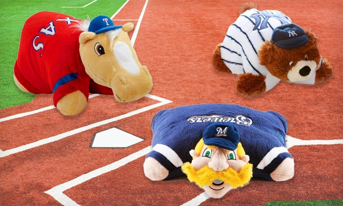 MLB Mini Pillow Pet: MLB Mini Pillow Pet. Multiple Teams Available.