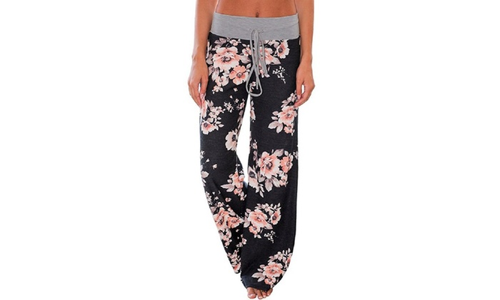 2ba313397baa1 Up To 63% Off on Women's Floral Pants (S-3X) | Groupon Goods