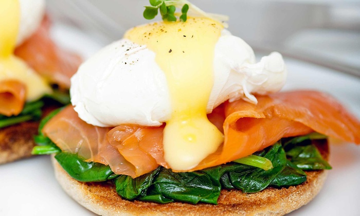 The News Lounge Cafe - Upper East Side: Organic Brunch for Two or Four with Drinks & Music at The News Lounge Cafe (Up to 48% Off)