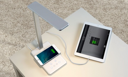 LED Desk Lamp with Wireless Phone Charger