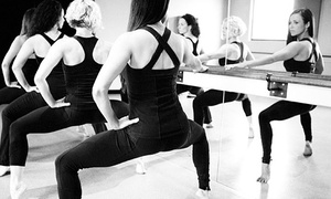Purely e barre + pilates: $45 for Five BarreAmped Classes at Purely e barre + pilates ($92.50 Value)