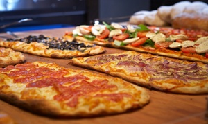 Ristorante Pizzeria La Perla : Menu fino a un metro di pizza d'asporto, frittura e birra per 2 o 4 persone alla pizzeria la Perla (sconto fino a 54%)
