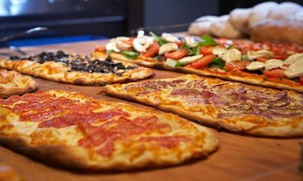 Pizza al metro, dolce e birra