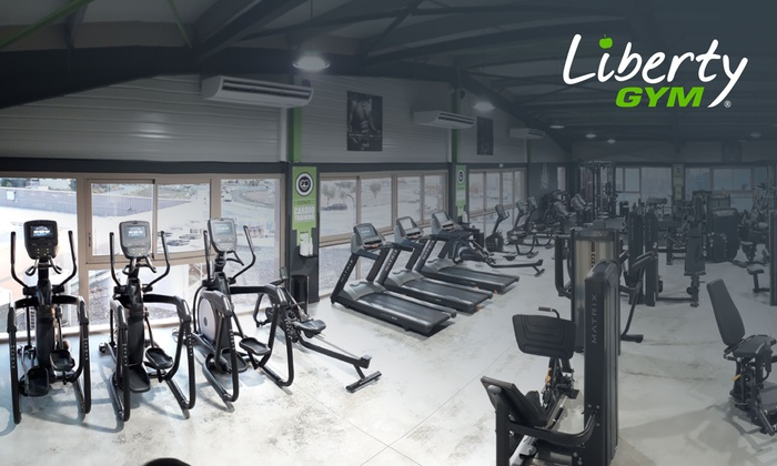 Abonnement Fitness Premium 1 An Liberty Gym Groupon