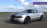 Three- or Six-Lap Ford Mustang Driving Experience at Experience Limits