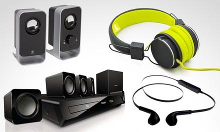 Accesorios de audio a elección