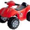 Battery-Powered Red Raptor 4-Wheeler