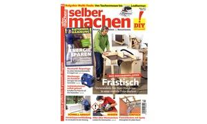 """Aboheld: Jahres-Abo (12 Ausgaben) der Zeitschrift """"selber machen"""" (71% sparen*)"""