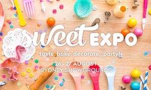 Sweet Expo 2017: One-Day Ticket for One ($19), Two ($25) or Four People ($45) to the Sweet Expo, 26-27 Aug (Up to $74 Value)