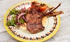 Sababa - London: Seven-Course Meze Platter for Two with Option for Wine at Sababa (Up to 62% Off)
