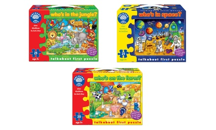 Orchard Toys Talkabout First Puzzle