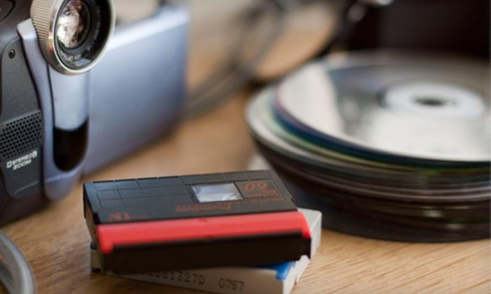 MyDVDTransfer.com - Multiple Locations: 3, 6, or 12 Tape-to-DVD Transfers from MyDVDTransfer.com (Up to 75% Off)