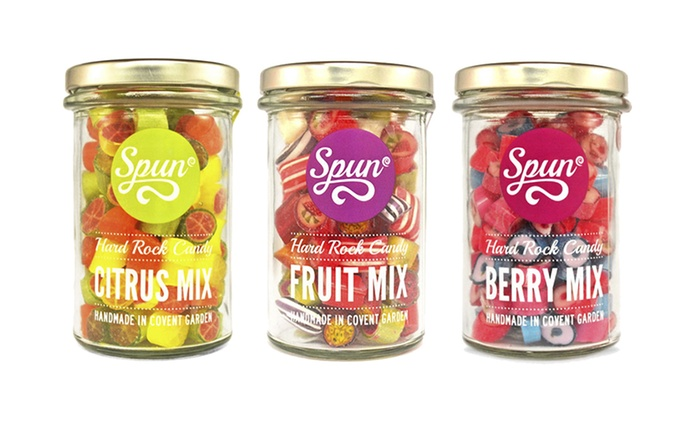 Spun Candy: £5 for £10 Towards Hand-Crafted Confectionery