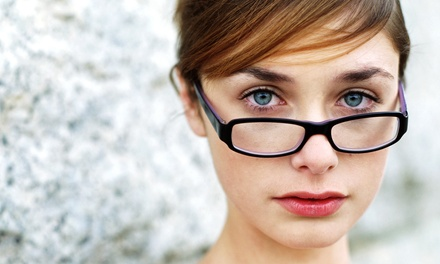 $43 for a Comprehensive Eye Exam with $200 Toward Prescription Glasses at Pearle Vision ($289 Value)