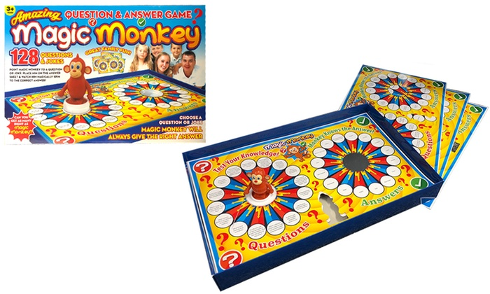 PMS International Magic Monkey Question and Answer Game
