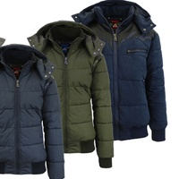 Deals on Mens Bomber Jacket with Trim