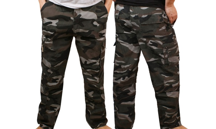 54,99 zł zamiast 99 zł: męskie bojówki moro z odpinanymi nogawkami w 2 kolorach i 3 rozmiarach