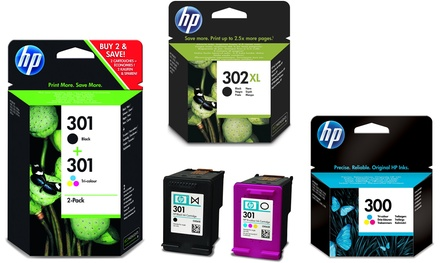Cartouches d'encre HP originales, HP300 / 301/302/303/304/62/364 / 364XL / 302XL, livraison offerte