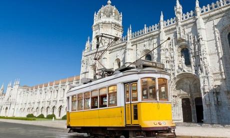 ? Lisbona: volo da Milano, Roma, Bologna, Pisa o Napoli e 2, 3 o 4 notti presso Hotel Principe Lisboa