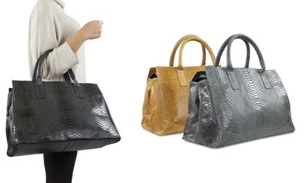 d22d0ff239 Sac à main cuir nubuck Carla Belotti, modèle Sabra | Deals et offres ...